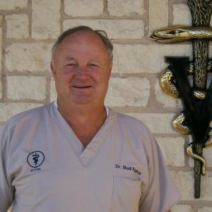 James E. (Bud) Pearce, DVM (Retired)Texas A & M University 1979 Founder Alvarado Veterinary Clinic in 1981